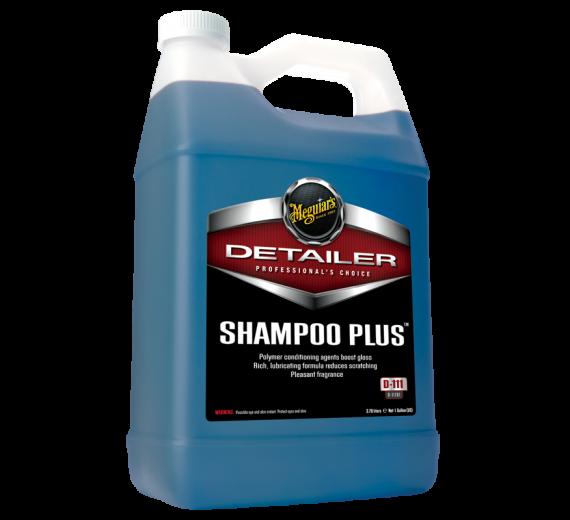 Shampoo Plus. Indeholder Glansforstærker
