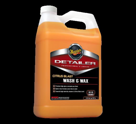 Meguiar's Citrus Blast Wash &  Wax  3,78 Ltr