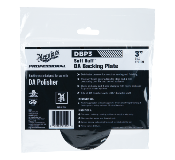 "3"" Meguiars Dual Action Backing Plate"