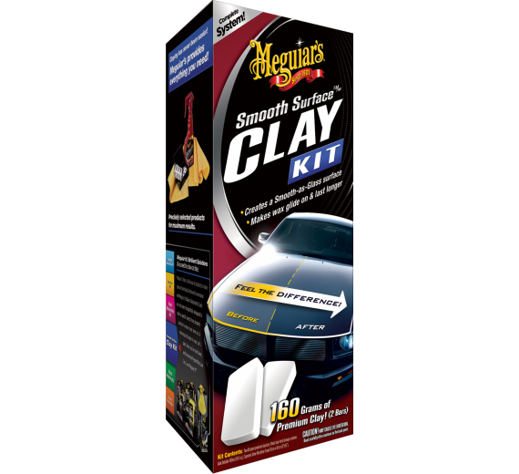 Smooth Surface Clay Kit