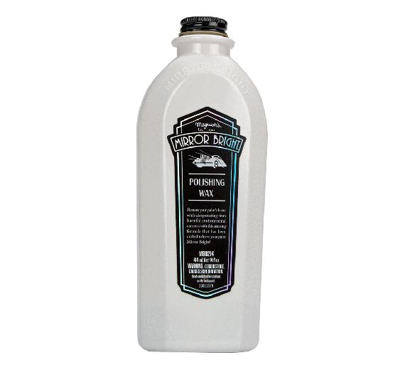 Mirror Bright - Polishing Wax Liquid  414 ml.