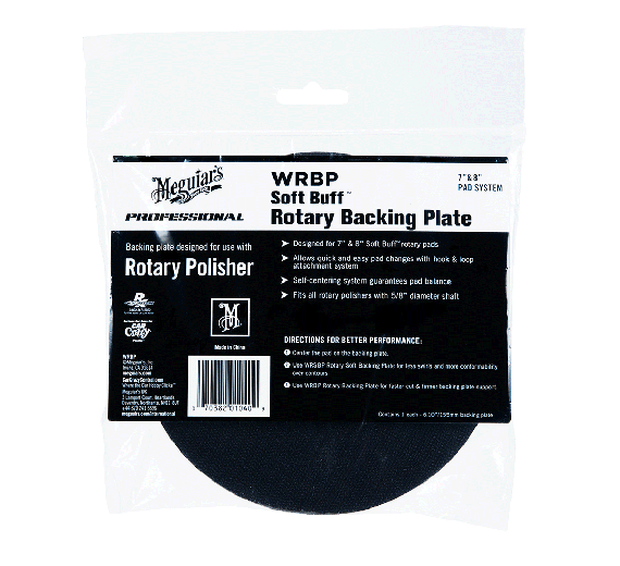 """7"""" backing plate Rotary"""