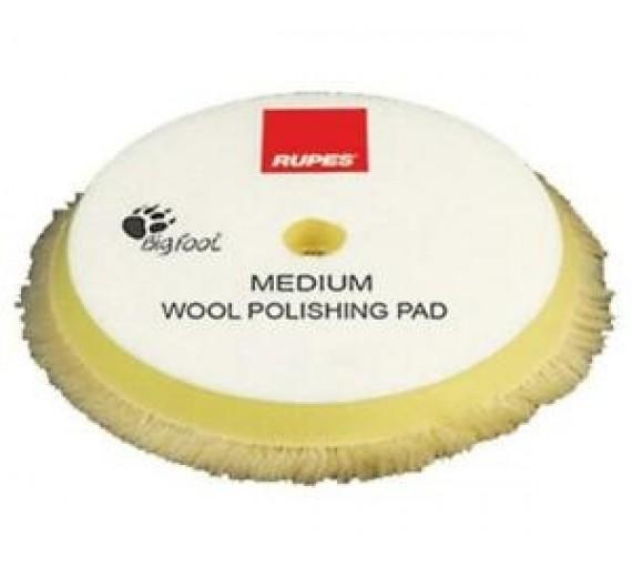 Rupes Yellow Wool Polishing Pad