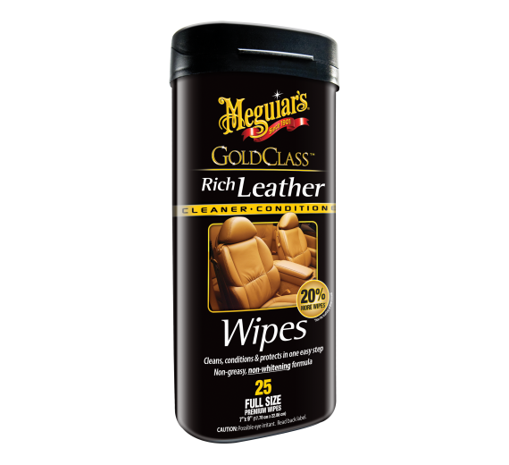 Gold Class Leather Wipes (25 stk)