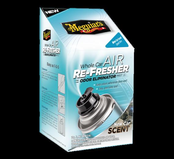 WHOLE CAR AIR RE-FRESHER - NEW CAR DUFT-  AIRCON / KABINE RENS / DUFT