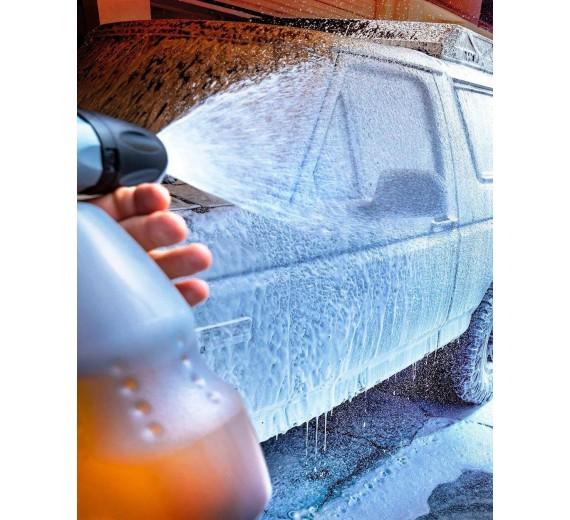 Efterfølgende kan man også Bruge Gold Class Shampoo som Ph-neutral skum produkt som