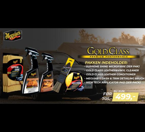Meguiars Gold Class Læder and vinyl pleje kit-02