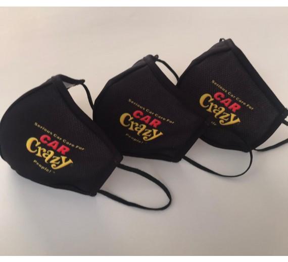 CarCrazy Logoet pryder den ene side