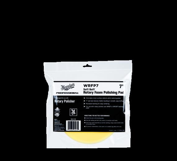 "Rotary Foam Polishing pad 7"" (gul)"