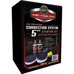 "DA Microfiber Correction System, 5"" Starter Kit"