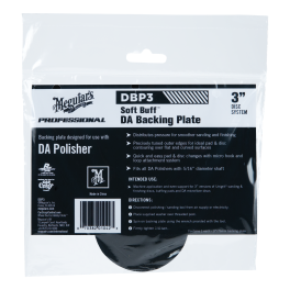 "3"" Meguiars Dual Action Backing Plate-20"