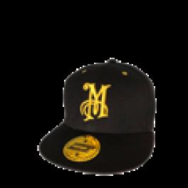 "Meguiars Kasket ""Snapback"" m. gult logo-20"