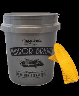 Meguiars Mirror bright 18,8 Ltr Spand + Grit guard-20