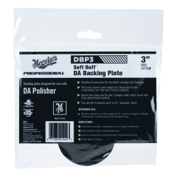 """3"""" Meguiars Dual Action Backing Plate"""