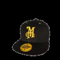 """Meguiar's Kasket """"Snapback"""" m. gult logo"""